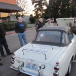 Datsun 2000 Roadster attracts a crowd