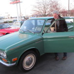 John V and his Datsun 521 Pickup