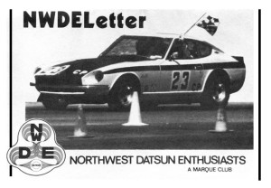 Cover of March 1983 NWDELetter