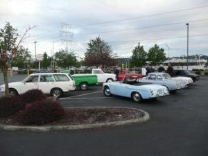 cars at Return To Renton 2016